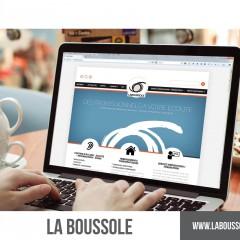 SITE INTERNET LA BOUSSOLE