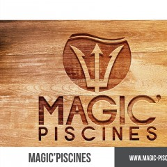 LOGO MAGIC'PISCINES